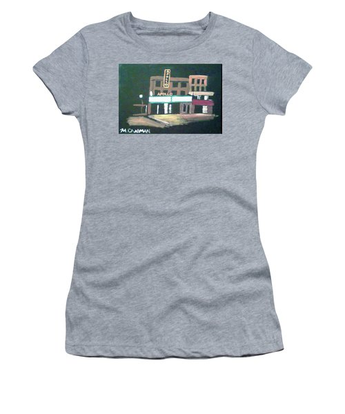 Apollo Theater New York City Women's T-Shirt (Athletic Fit)