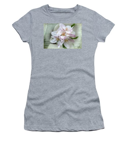 Apple Blossoms From My Hepburn Garden Women's T-Shirt