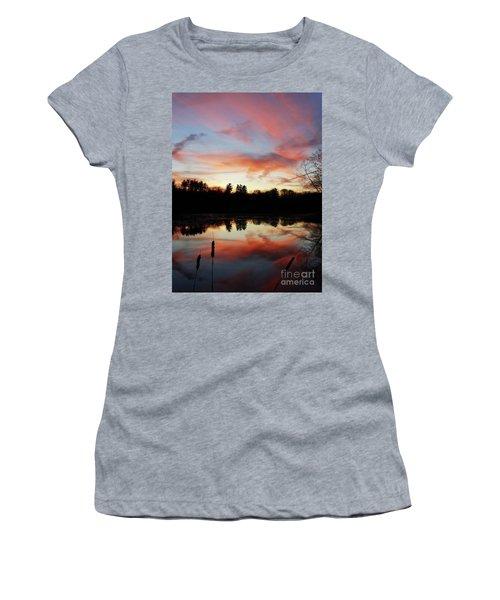 April Sky 23 Women's T-Shirt (Athletic Fit)