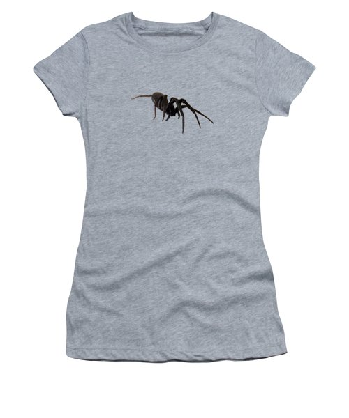 Women's T-Shirt (Junior Cut) featuring the photograph Arachne Noire by Marc Philippe Joly