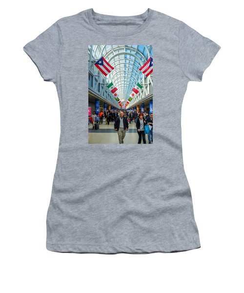 Arcade Of Flags Women's T-Shirt (Athletic Fit)