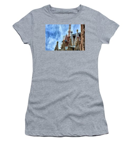 Architectural Details Of The Sagrada Familia Women's T-Shirt