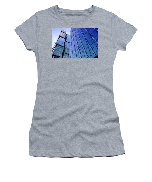 Architecture On The Streets Of Seattle Washington Women's T-Shirt