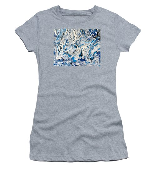 Arctic Frenzy Women's T-Shirt (Athletic Fit)