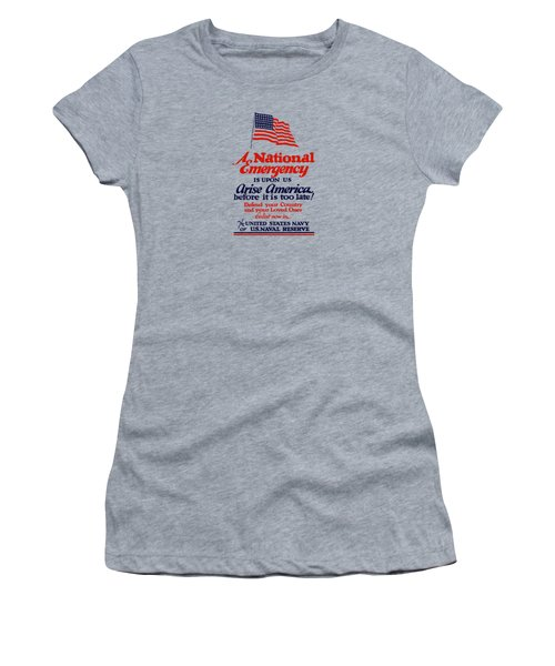 Arise America Before It Is Too Late - Join The Navy Women's T-Shirt