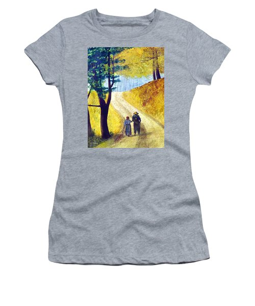Arm In Arm Women's T-Shirt (Athletic Fit)