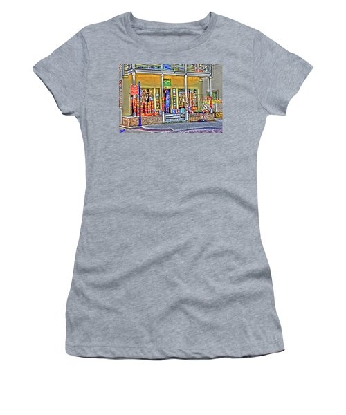 Around The World Marketplace Saint Augustine Women's T-Shirt (Athletic Fit)