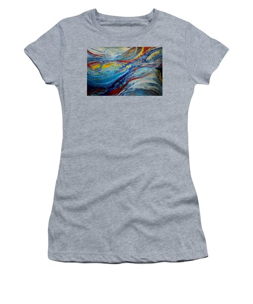 Arrive Women's T-Shirt (Athletic Fit)
