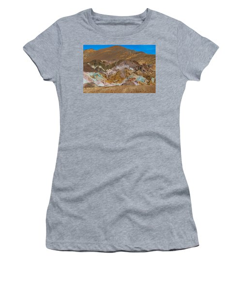 Artists Palette At Death Valley Women's T-Shirt (Athletic Fit)