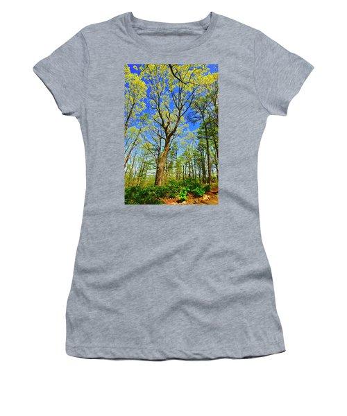 Artsy Tree Series, Early Spring - # 04 Women's T-Shirt