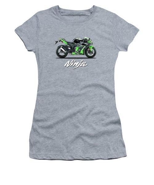 Kawasaki Ninja Zx-10r Women's T-Shirt