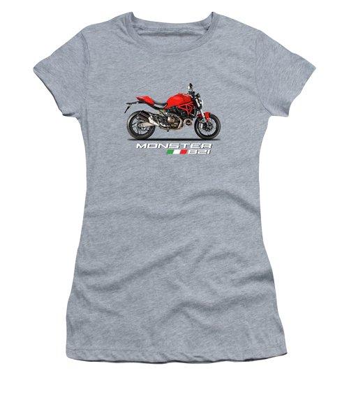 Ducati Monster 821 Women's T-Shirt (Athletic Fit)