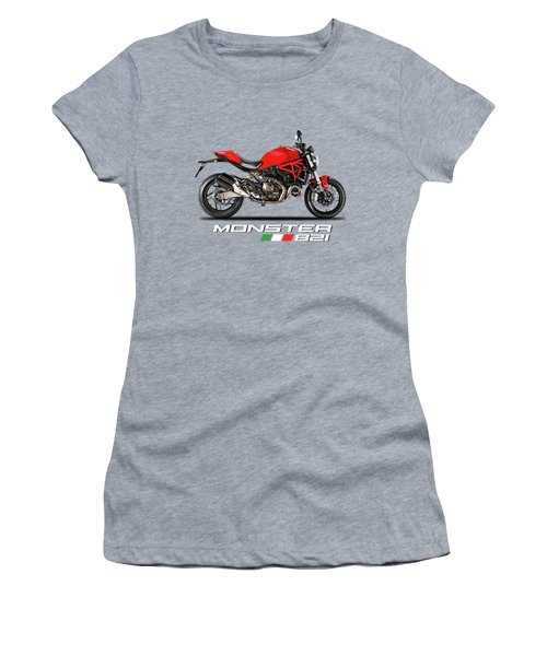 Ducati Monster 821 Women's T-Shirt (Athletic Fit)