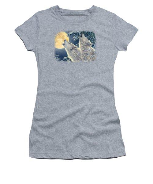 Moonlight Women's T-Shirt (Junior Cut) by Lucie Bilodeau