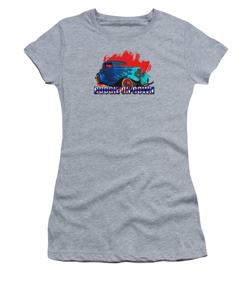 1932 Ford 3 Window Coupe Women's T-Shirt (Athletic Fit)