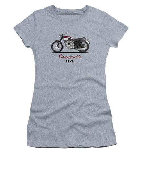 Triumph Bonneville T120 1968 Women's T-Shirt