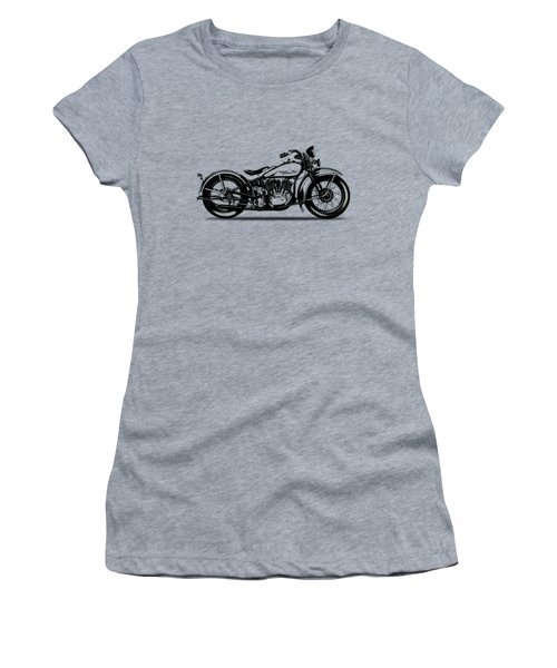 Harley Davidson 1933 Women's T-Shirt (Junior Cut) by Mark Rogan