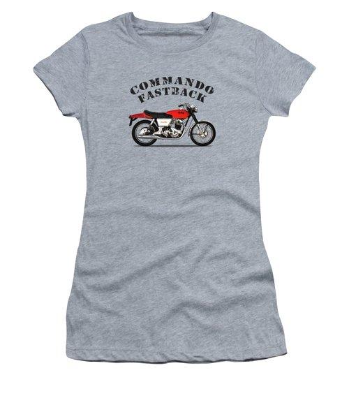 Norton Commando Fastback Women's T-Shirt (Athletic Fit)