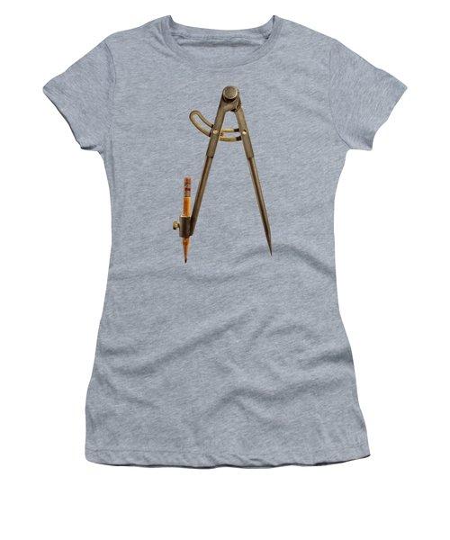 Iron Compass Backside Women's T-Shirt