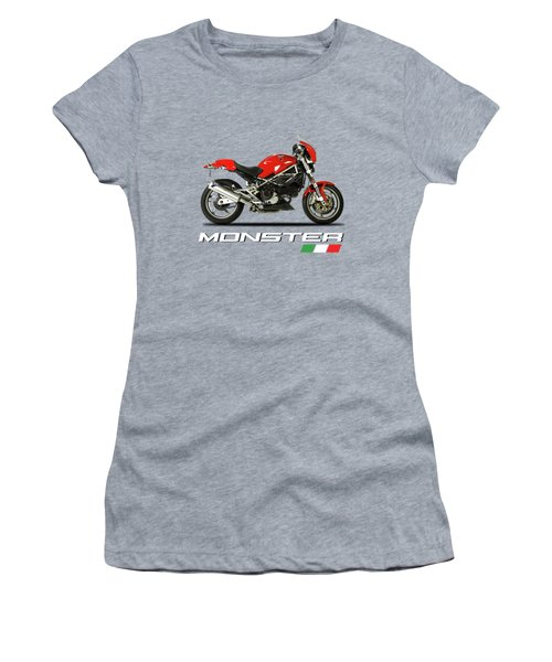 Ducati Monster S4 Sps Women's T-Shirt (Athletic Fit)