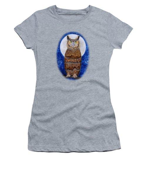 Paisley Moon Women's T-Shirt (Athletic Fit)