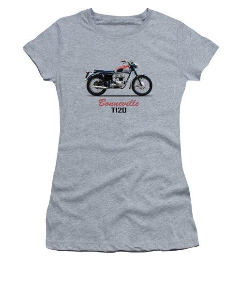 Bonneville T120 1962 Women's T-Shirt (Athletic Fit)