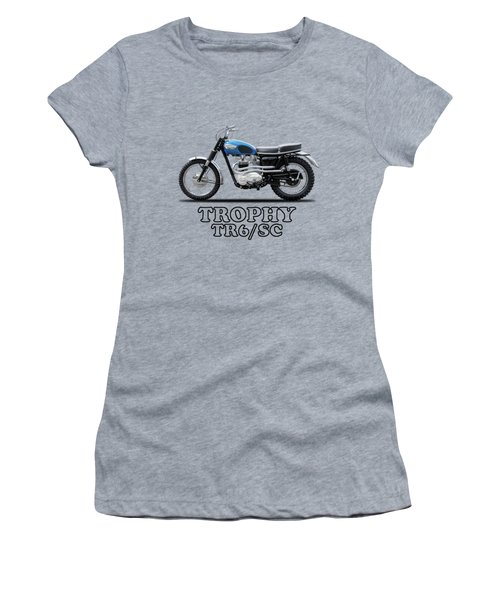 The Trophy Tr6 Sc Motorcycle Women's T-Shirt