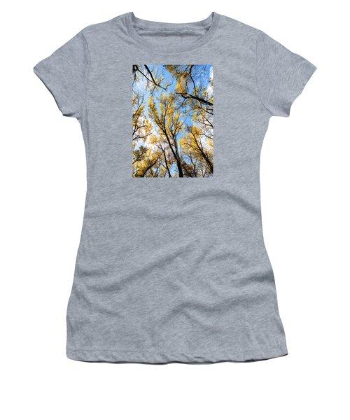 Looking Up Women's T-Shirt (Junior Cut) by Bill Kesler