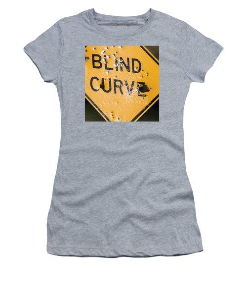 Blind Curve Women's T-Shirt (Athletic Fit)