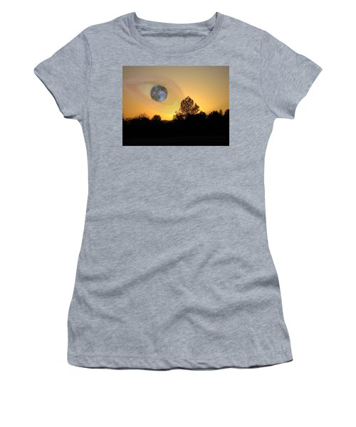 Women's T-Shirt (Junior Cut) featuring the photograph As I See It by Joyce Dickens