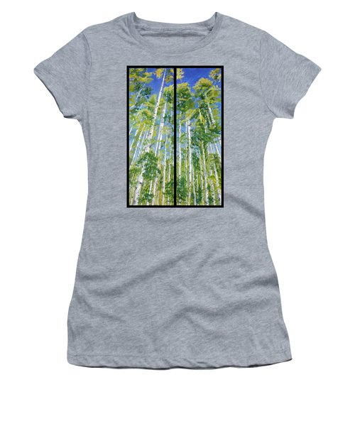 Aspen Twin Perspectives Women's T-Shirt (Athletic Fit)