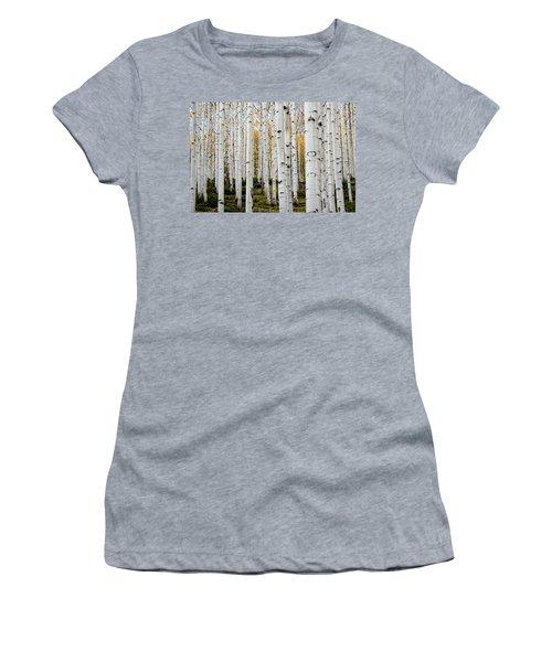 Aspens And Gold Women's T-Shirt
