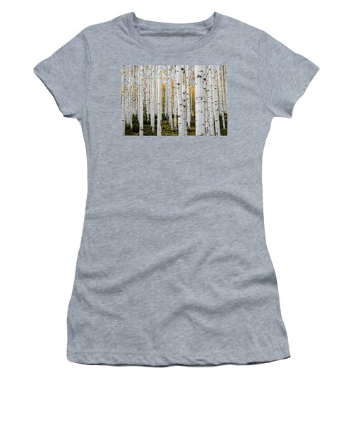 Aspens And Gold Women's T-Shirt (Athletic Fit)
