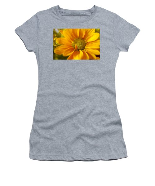 Aster Close Up Women's T-Shirt (Athletic Fit)