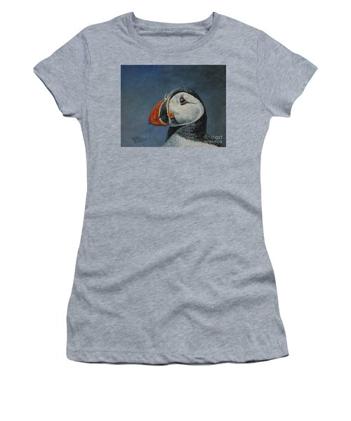 Atlantic Puffin Women's T-Shirt (Athletic Fit)