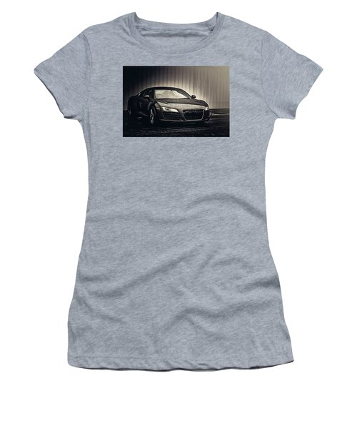 Women's T-Shirt (Junior Cut) featuring the photograph Audi R8 by Joel Witmeyer