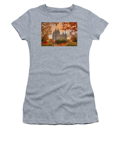 Autumn At Temple Square Women's T-Shirt