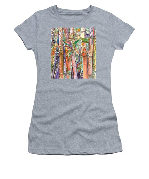 Autumn Bamboo Women's T-Shirt (Athletic Fit)