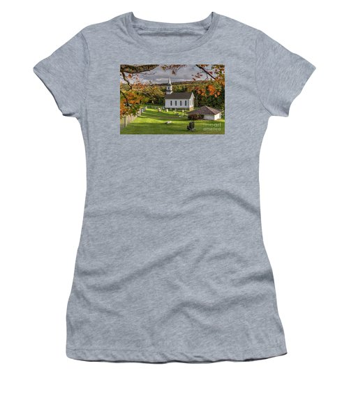 Autumn Church Women's T-Shirt
