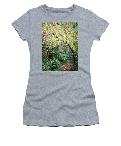 Autumn Colors In The Forest Women's T-Shirt