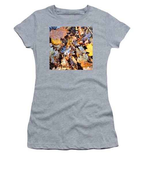 Autumn Colours Women's T-Shirt (Athletic Fit)