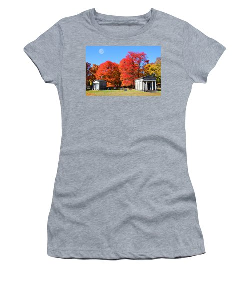 Autumn In The Cemetery Women's T-Shirt