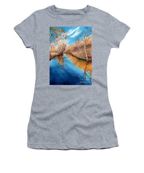 Autumn On The Elkhorn Women's T-Shirt