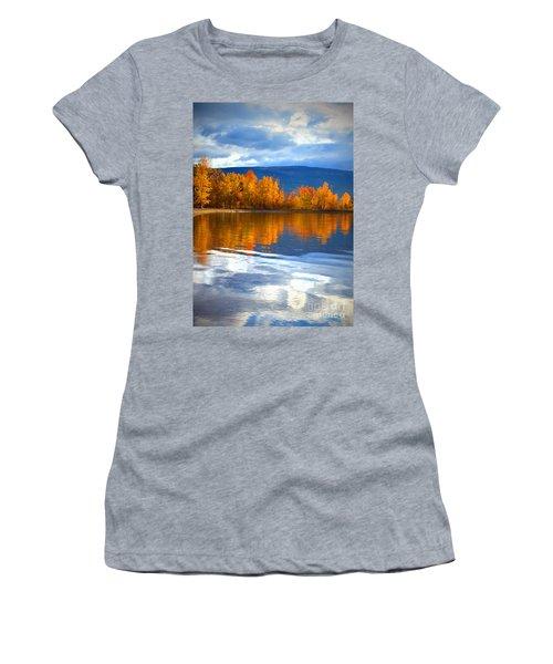 Autumn Reflections At Sunoka Women's T-Shirt