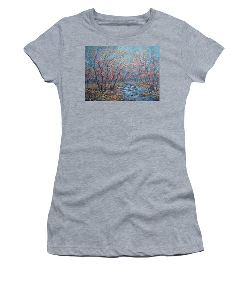 Autumn Serenity Women's T-Shirt (Athletic Fit)