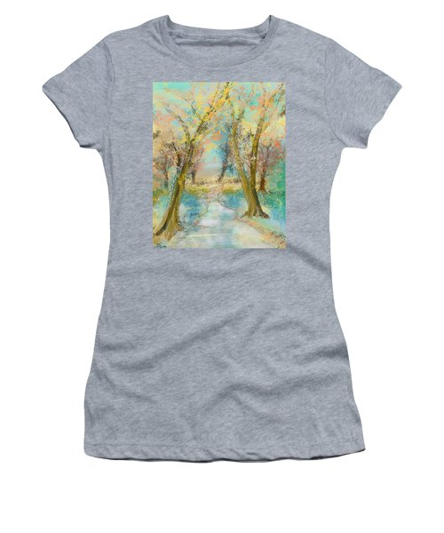 Autumn Sketch Women's T-Shirt (Athletic Fit)