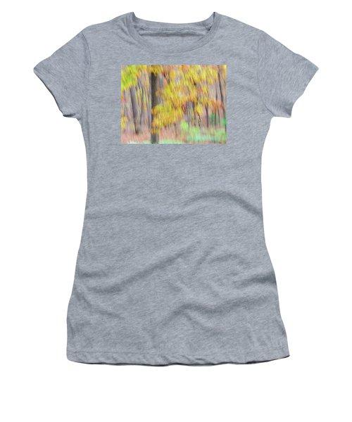 Autumn Splendor Women's T-Shirt (Junior Cut) by Bernhart Hochleitner