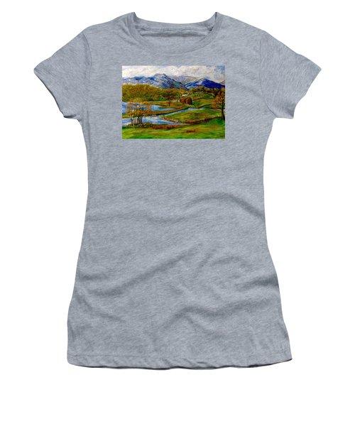 Autumn View Of The Trossachs Women's T-Shirt (Athletic Fit)