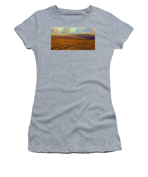 Autumnal Fogs Women's T-Shirt (Athletic Fit)