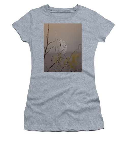 Autumns Web Women's T-Shirt (Athletic Fit)